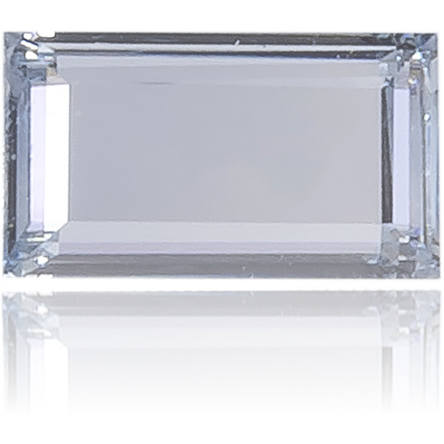 Natural Blue Diamond Rectangle 0.30 ct Polished