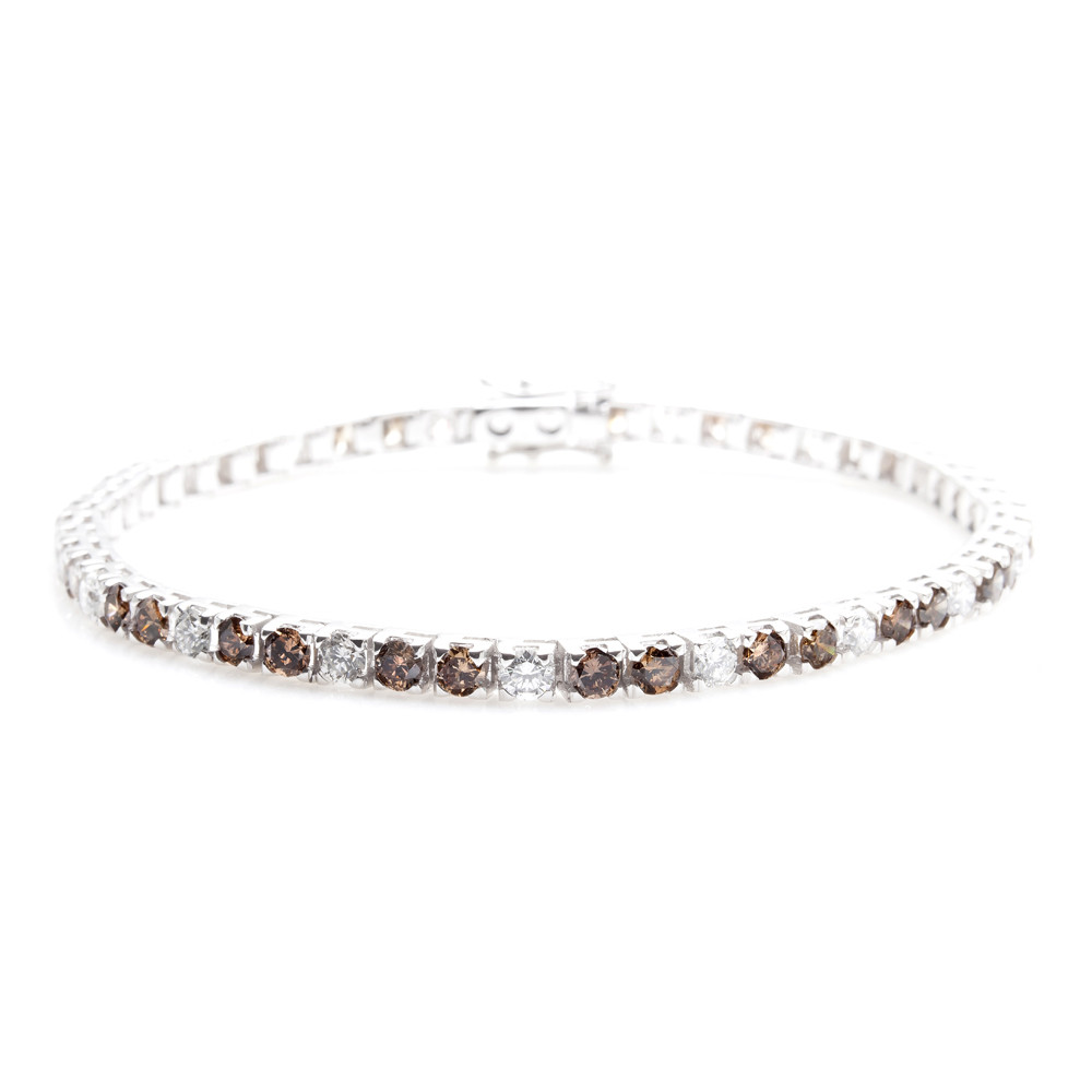 platinum co product diamond tiffany victoria eternity tennis bracelet cover line open