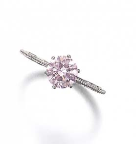 Fancy Pink Diamond. Credit Sotheby's