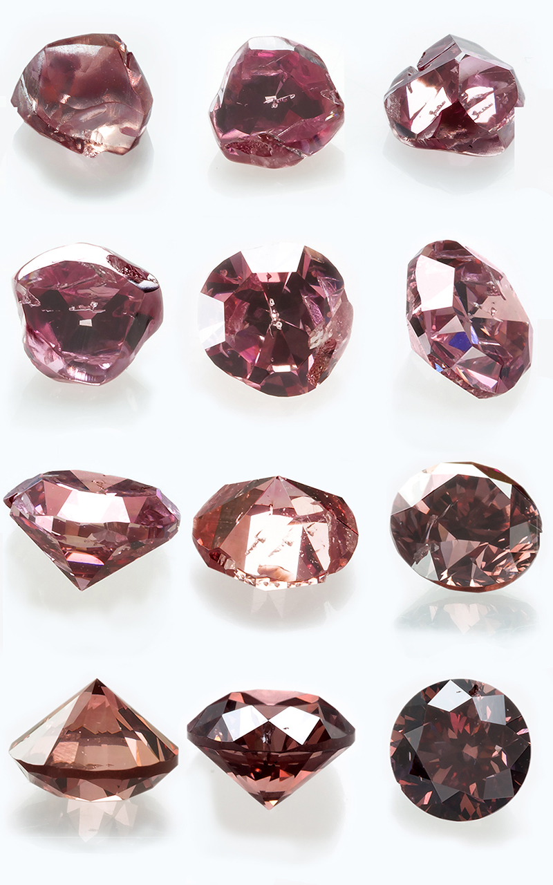 Fancy Color Diamond: From rough to polished - Langerman Diamonds