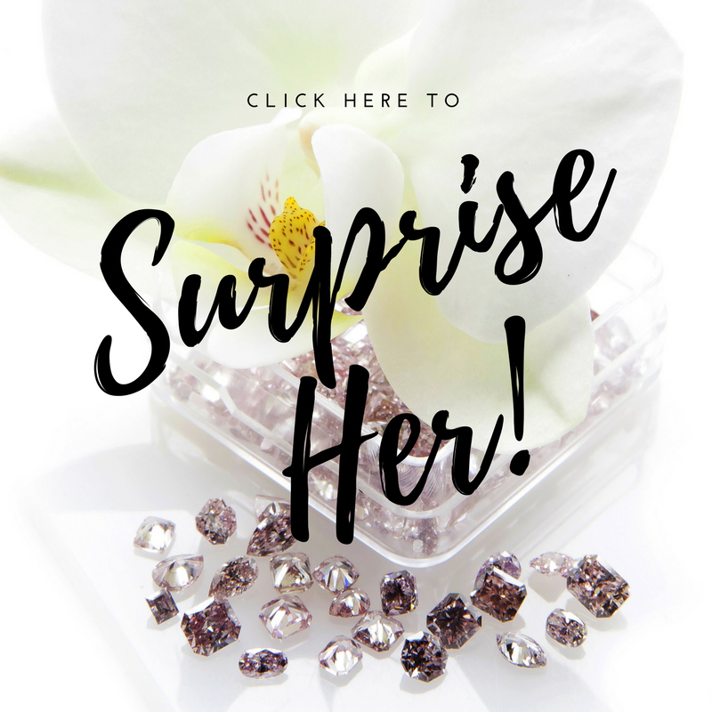 Surprise Her With natural Color Diamonds