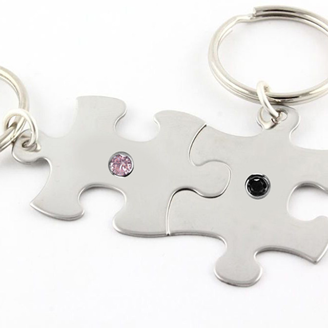 Surprise Him with a Keyring Personalized with his Favorite Color