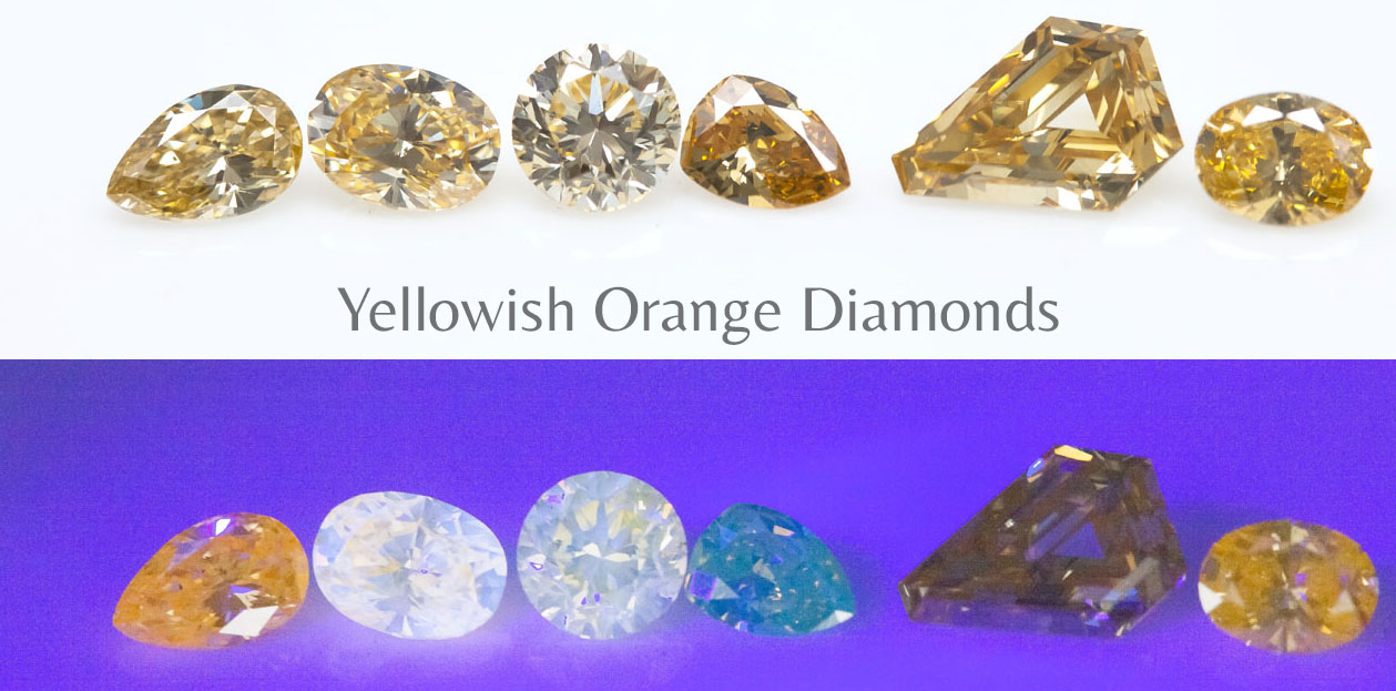 Yellowish Orange Diamonds