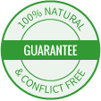 100% natural guarantee